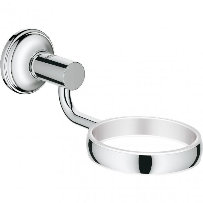 Держатель для мыльницы, стакана, дозатора жидкого мыла GROHE ESSENTIALS AUTHENTIC, хром 40652001
