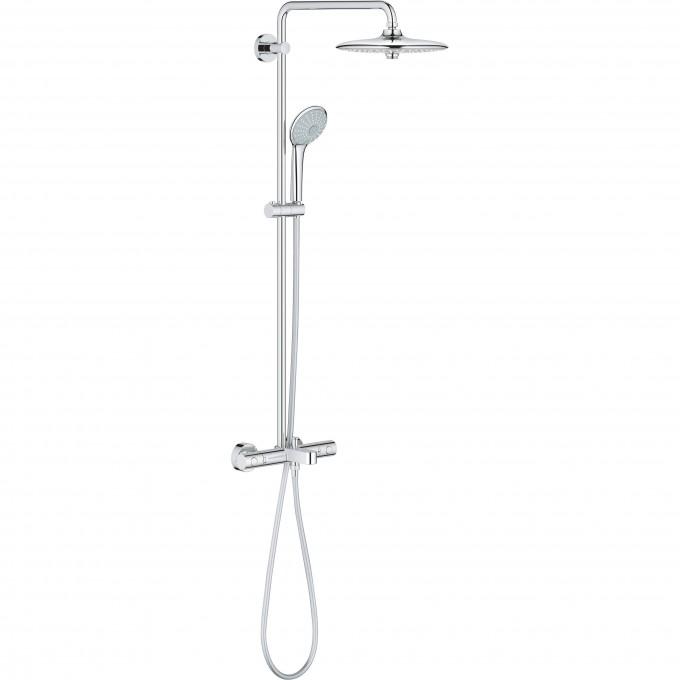 Душевая система для ванны GROHE EUPHORIA 260 с термостатическим смесителем, хром 26114001