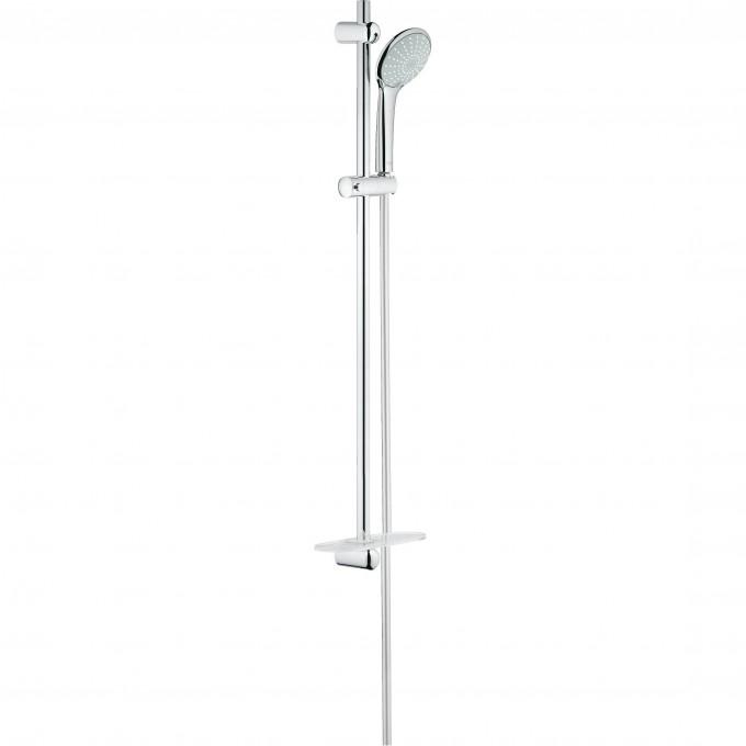 Душевой гарнитур GROHE EUPHORIA 110 DUO с полочкой (ручной душ, штанга 900 мм, шланг 1750 мм) () 27225001