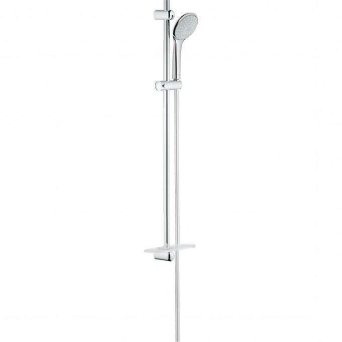 Душевой гарнитур с полочкой GROHE EUPHORIA (ручной душ, штанга 900 мм, шланг 1750 мм), хром 27267001
