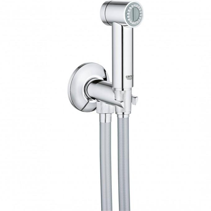 Душевой набор GROHE SENA TRIGGER SPRAY 35 (ручной душ, запорный вентиль, душевой шланг), хром 26332000
