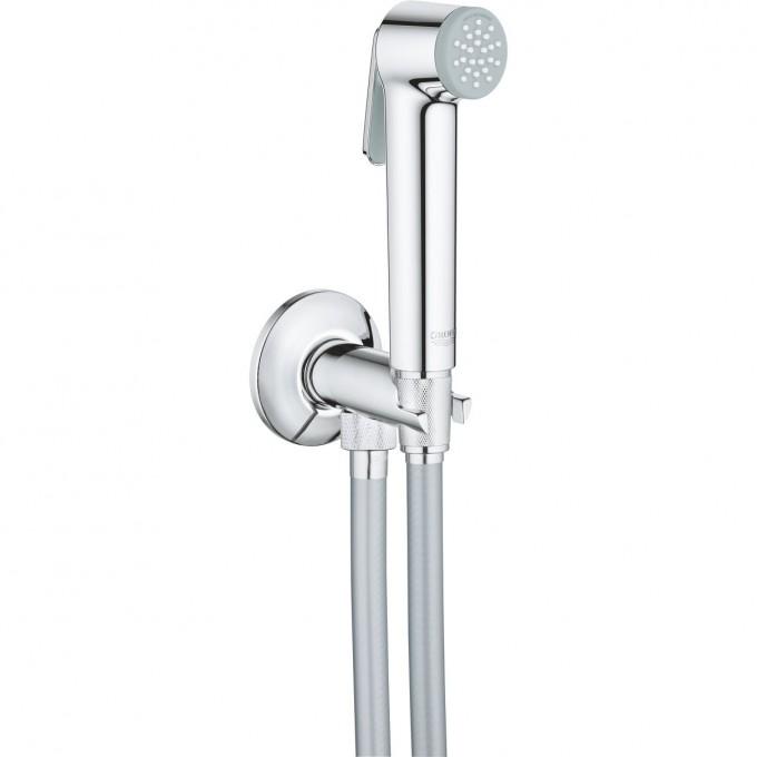 Набор для гигиенического душа GROHE TEMPESTA-F TRIGGER SPRAY 30 (гигиенический душ, нажимной запорный вентиль, шланг 1000 мм), хром 26358000