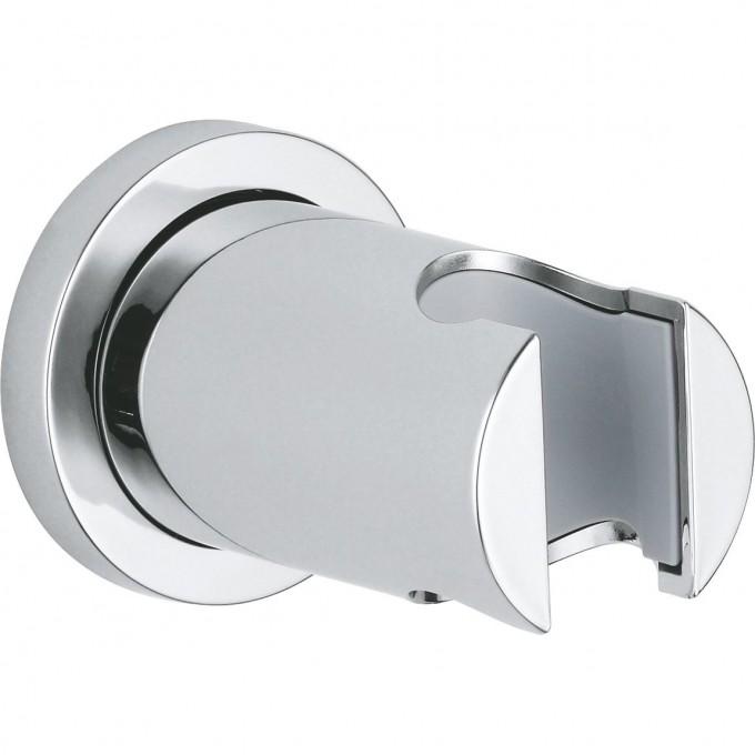 Настенный держатель для ручного душа GROHE RAINSHOWER с круглой розеткой, хром 27074000