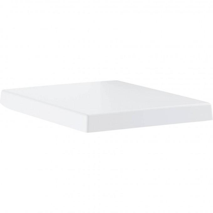 Сиденье для унитаза GROHE CUBE CERAMIC, быстросъемное с микролифтом, альпин-белый 39488000