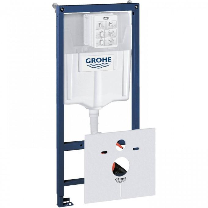 Система инсталляции для унитаза GROHE RAPID SL (1,13 м) с принадлежностями для монтажа перед стеной 38539001