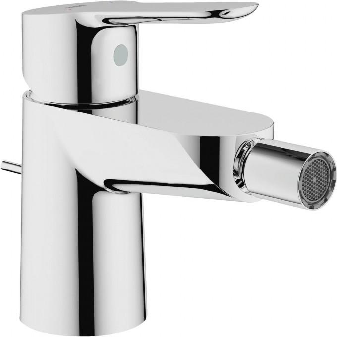 Смеситель для биде GROHE BAUEDGE с донным клапаном и ограничением расхода воды, хром 23331000