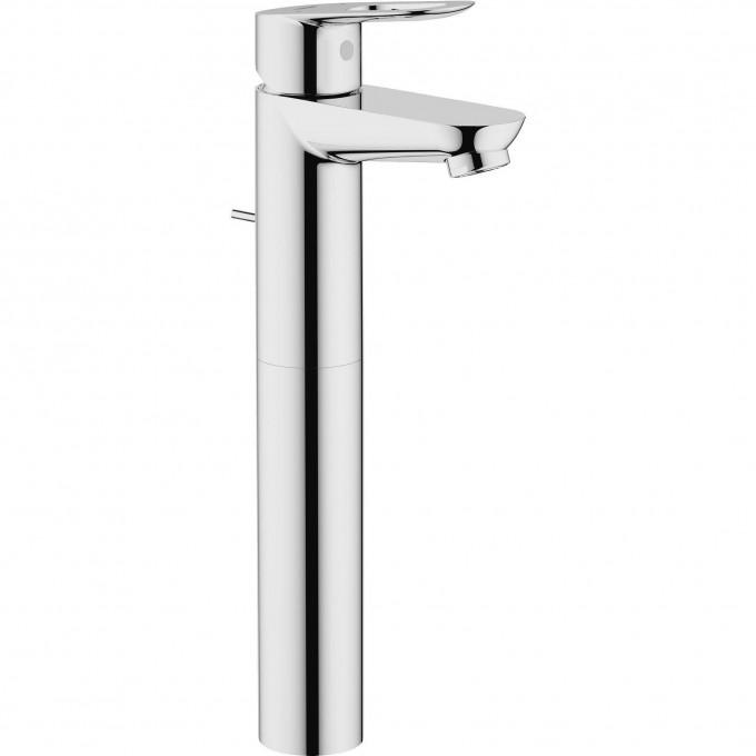 Смеситель для раковины GROHE BAULOOP с донным клапаном, свободностоящий, хром 32856000
