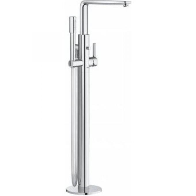 Смеситель для свободностоящей ванны GROHE LINEARE NEW, хром 23792001