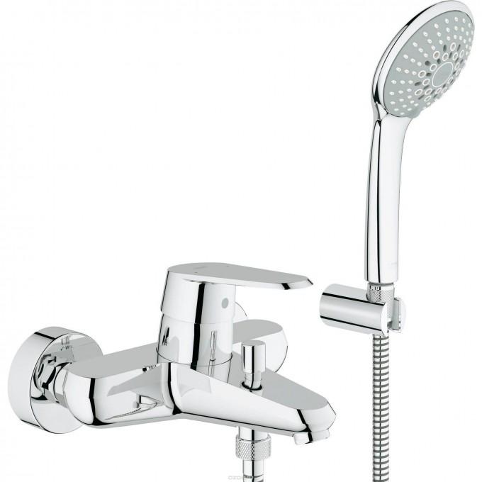 Смеситель для ванны GROHE EURODISC COSMOPOLITAN с душевым гарнитуром, хром () 33395002