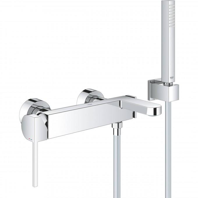 Смеситель для ванны GROHE Plus, настенный монтаж () 33547003