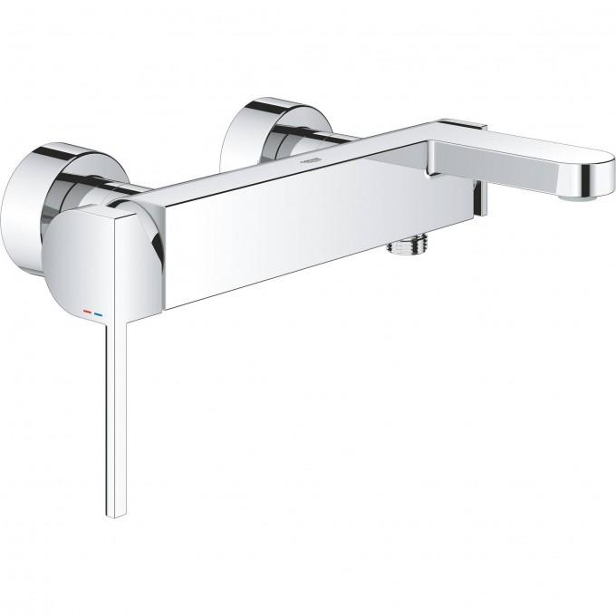 Смеситель для ванны GROHE PLUS, настенный монтаж, 1/2″ 33553003