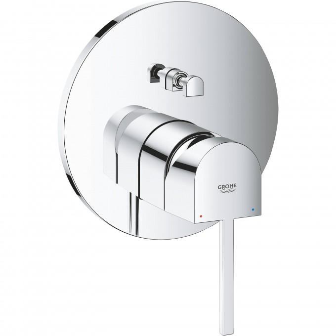 Смеситель однорычажный для ванны GROHE PLUS, круглая розетка () 24060003