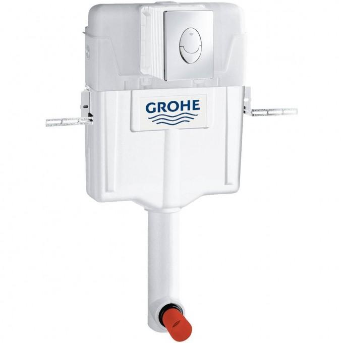 Смывной бачок скрытого монтажа для унитаза GROHE GD2 с панелью смыва (3 режима) 38895000