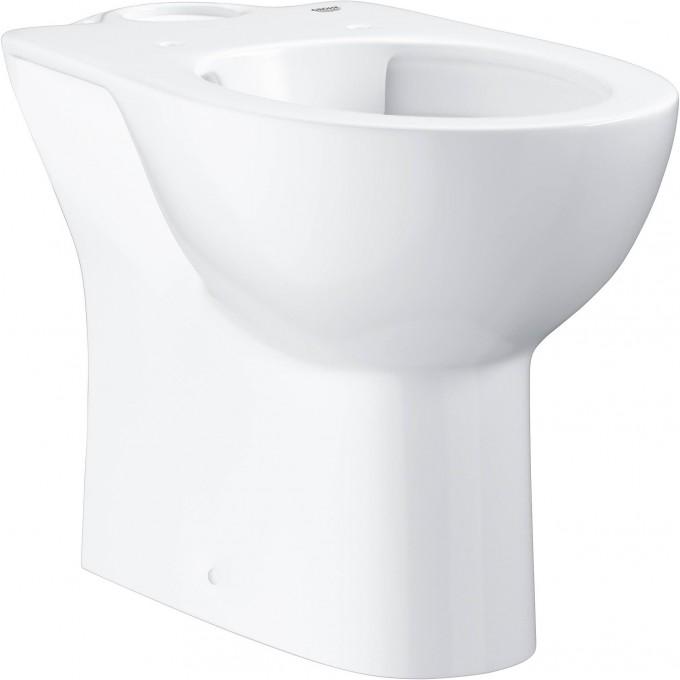 Унитаз GROHE BAU CERAMIC напольный для комбинации с бачком наружного монтажа, альпин-белый 39349000