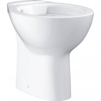 Унитаз напольный безободковый GROHE BAU CERAMIC, выпуск в пол (без сиденья), альпин-белый (39431000)