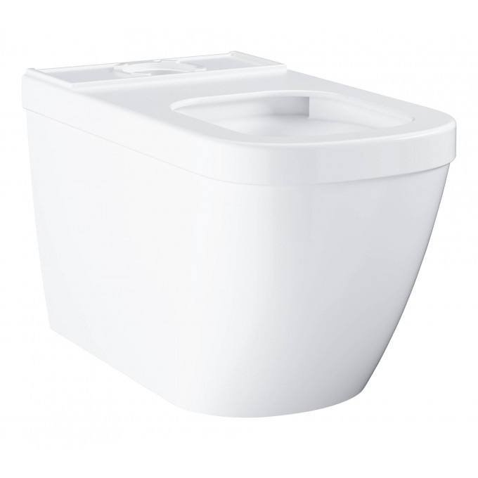 Унитаз напольный безободковый GROHE EURO CERAMIC (без бачка и сиденья), альпин-белый () 39338000