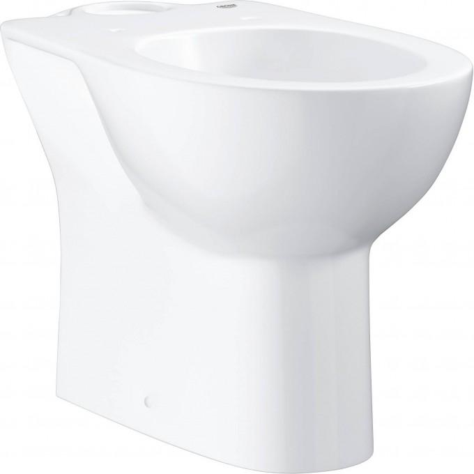Унитаз напольный GROHE BAU CERAMIC, горизонтальный выпуск (без бачка и сиденья), альпин-белый 39428000